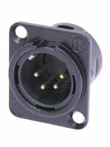 Erdung Neutrik NC5FAV XLR 5 poliger Chassisstecker