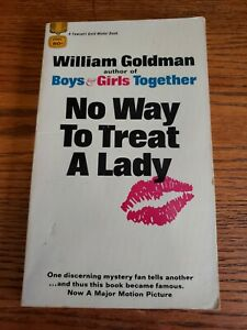 NO-WAY-TO-TREAT-A-LADY-William-Goldman-1964-Gold-Medal-1st-Edition