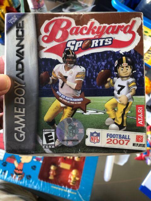 Backyard Football 2007 GBA New Game Boy Advance | eBay