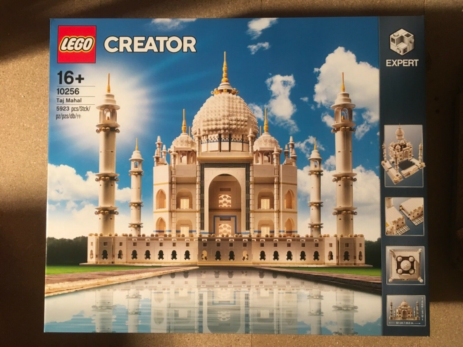 LEGO  CREATOR Taj Mahal 10256  più sconto
