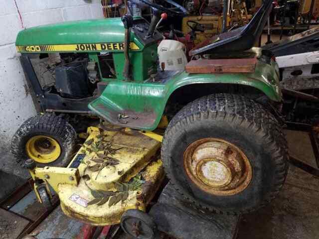 400 John Deere Riding Lawn Mower Wiring Diagram - Wiring ...