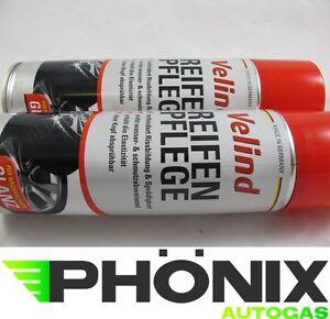 Auto & Motorrad: Teile Autopflege & Aufbereitung 2x Velind Reifenpflege Reifenreiniger Reifen Pflege Schmutzabweisend 500ml Durchsichtig In Sicht