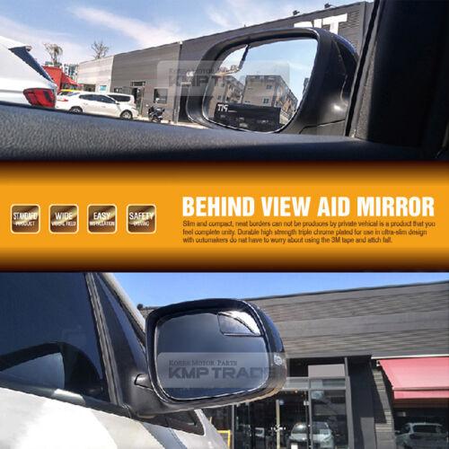 Maxcruz Wide Angle Rear View Blind Side Mirror for HYUNDAI 14-17 Santa FE XL