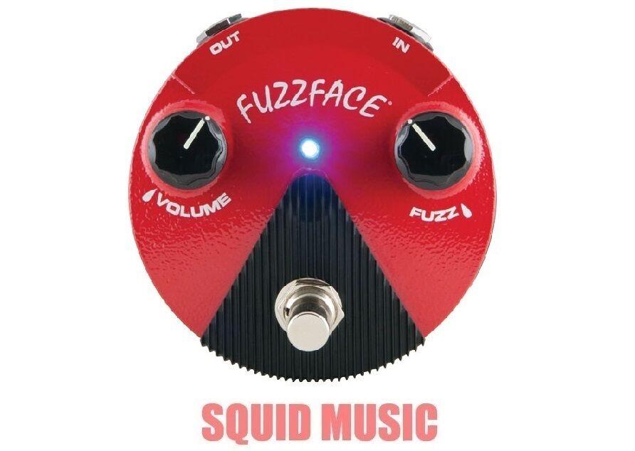 Dunlop Germanium Fuzz Face Mini rot Guitar Effects Pedal FFM2 (ODER BEST OFFER)