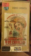 UNA SOTA Y UN CABALLO. FERNANDO DE LA MORA, VICTORIA RIFFO. RARE SPANISH VIDEO