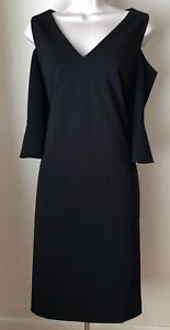 Melani Dress Black Antonio Dexi 4 14 Taglia Cold Shoulder Nwt 8 d7wCXCqOx
