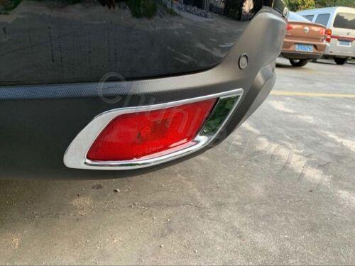 Tail Chrome Rear Fog Light Cover Trim For 2019-2020 Subaru Forester 2PCS