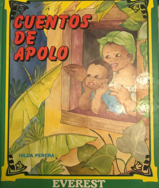 """Cuentos de Apolo"" By Hilda Pereira Good Condition Hardcover Spanish"