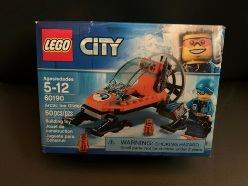 New Lego City 60190 Arctic Ice Glider Building Set