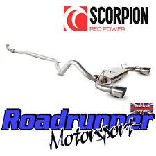 Scorpion Fiat 500 Abarth Sistema De Escape De Acero Inoxidable Gato atrás 1.4 Turbo 08 en