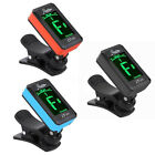 Rowin Acoustic Guitar Tuner Clip-On Digital Electronic LCD for Bass
