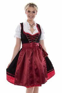 89944bc8a40291 Das Bild wird geladen guenstige-Dirndl-Set-3tlg-Oktoberfest-Tracht-Kleid- Bluse-