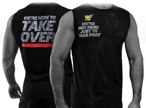 Limited Edition Official BSN Conor McGregor Takeover Vest Top