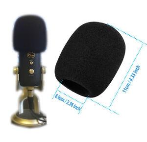 Details about Blue Yeti Mic Foam Pop Filter Windscreen Yeti PRO MXL Big  2 5