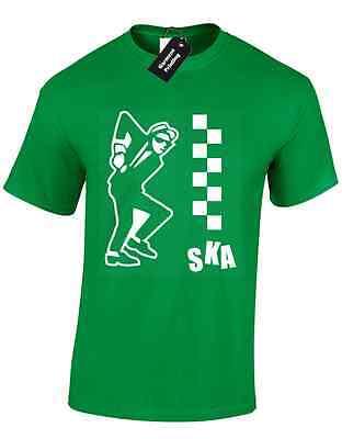 Ska homme t shirt danse musique reggae cult 80S nouveauté gents haut décontracté s-xxxl