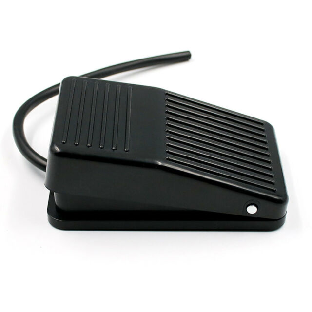 bbab0ce2910 Electric Momentary Metal Button Switch Power Foot Pedal Push for sale online