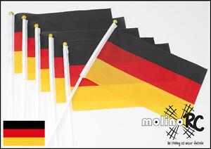 6x-Deutschland-Fahne-WM-2018-20cm-x-13-5cm-Laenge-30cm-Stockfahne-BRD