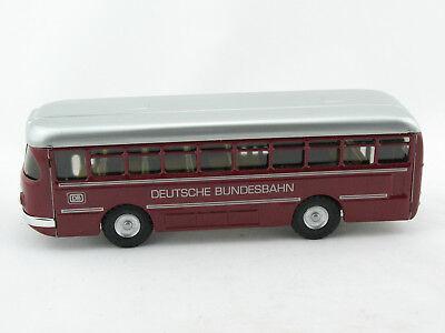 Blechspielzeug Bus Büssing 1959 mit Uhrwerk gelb von KOVAP 0492g