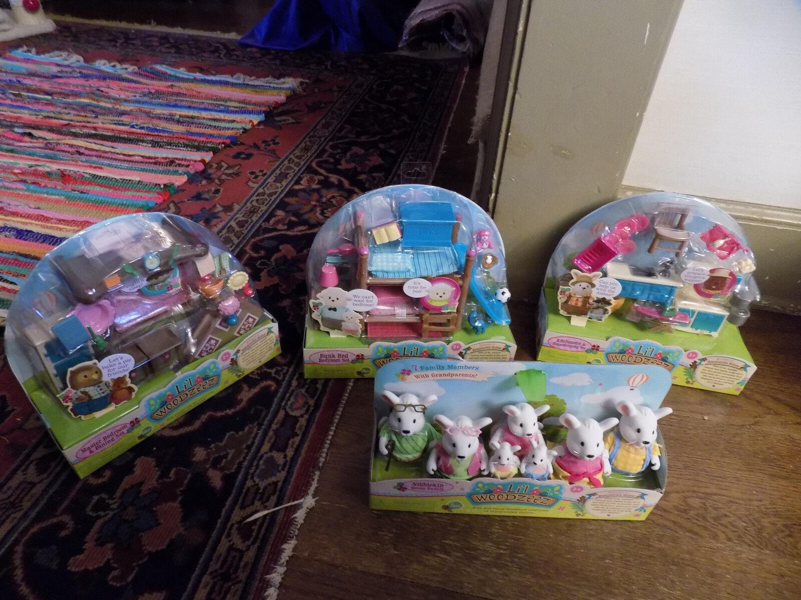 Kupit Lot New Li L Woodzeez Nibblekin Mouse Family Grandparents Na Aukcion Iz Ameriki S Dostavkoj V Rossiyu Ukrainu Kazahstan