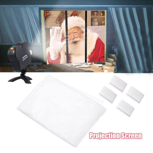 New Window Movie Projector Screen Christmas Halloween Movie Display Cloth Hot