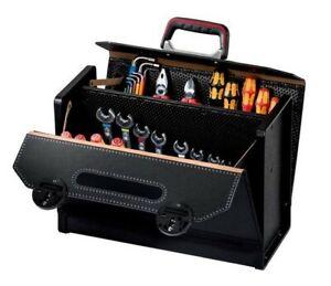 PARAT-16-000-571-Rindleder-Werkzeugtasche-mit-Mittelwand-CP-7-TOP-LINE