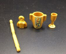 Playmobil Egyptian Pirate Goblet Bottle Stick Container Lot
