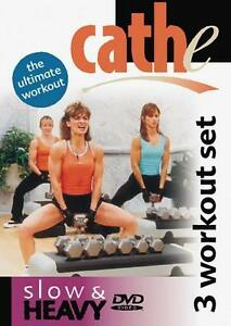 CATHE-FRIEDRICH-SLOW-HEAVY-WEIGHT-TRAINING-DVD-NEW-SEALED-WORKOUT-EXERCISE