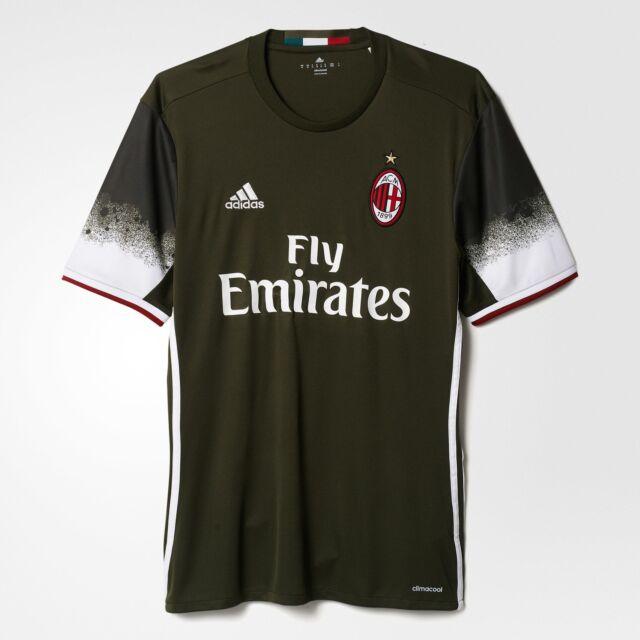 80d5dcdc2059d8 Adidas ACM 3 AC Milan Maglietta Verde (carnoc/bianco) M | Acquisti ...