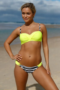 ffe5ad159 Women Swimsuit Two Piece Push up Bikini Set Bandeau Bathing Suit ...