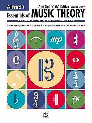 1 of 1 - Alfred's Essentials of Music Theory: Complete Book Alto Clef (Viola) Edition, Co