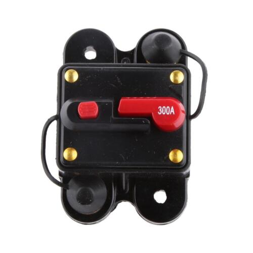 300 AMP HI-AMP Manual Reset Circuit Breaker 12v//24v Car Boat Stereo Fuse