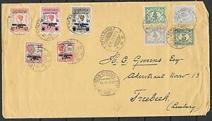 Netherlands Indies covers 1928 EARLY Airmailcover Semerang to Treebeek