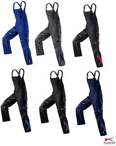 Hochwertige Latzhose/Arbeitshose PULSSCHLAG Marke Kübler Größen: 25-118 6 Farben