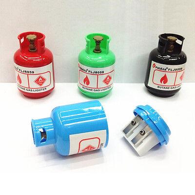 New Cartoon Gas Tank Plastic Pencil Sharpener Machine For Kids Gift Stationery