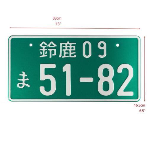 Good Car Numbers Japanese Japan License Plate Aluminum For Honda Toyota OZ