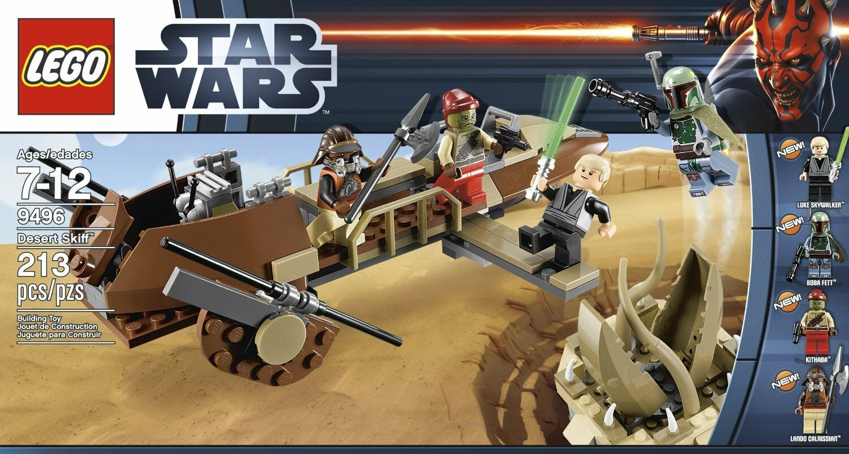 LEGO 9496 - Star Wars - Desert Skiff w  BOX - 2012