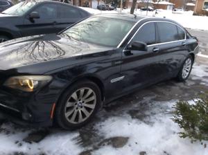 2010 BMW 750 Li XDrive - Heads Up Display