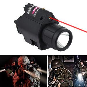 2-in-1-Combo-Red-Dot-Laser-Sight-CREE-LED-Flashlight-20mm-Rail-for-Pistol