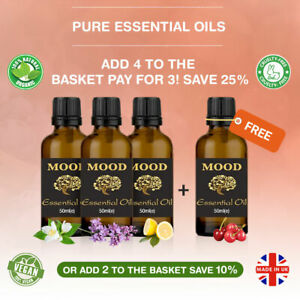 Essential-Pure-Natural-Oil-50ml-Aromatherapy-Oils-Organic-Fragrances-Diffuser