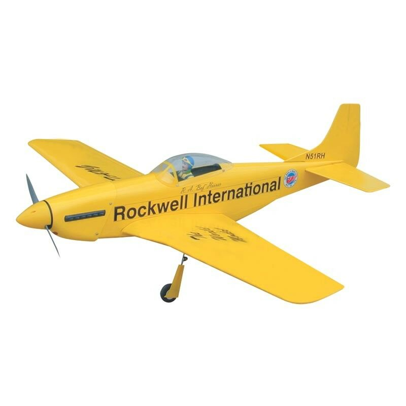 Models P-51 Mustang 46 The World (Amarillo)