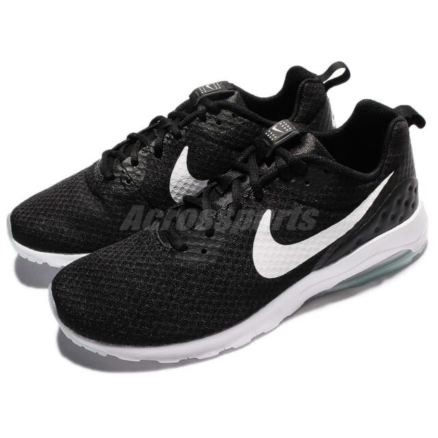 a65fe44a Nike Air Max Motion Low Black White Men Classic Shoes Sneakers 833260-010