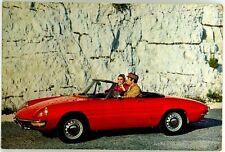 Cartolina Auto Alfa Romeo 1750 Spider Veloce Non Viaggiata