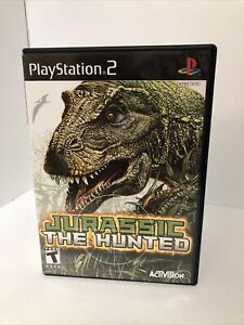 Jurassic-The-Hunted-CIB-PS2-Sony-PlayStation-2-2009