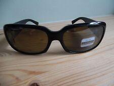 """Serengeti Polarized Black Oval """"Giullana"""" Sunglasses/Case/Box/Cloth 7503 Italy"""