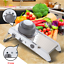 Professional-Vegetable-Fruit-Cutter-Grater-Adjustable-Safety-Home-Kitchen-Tool miniatura 2