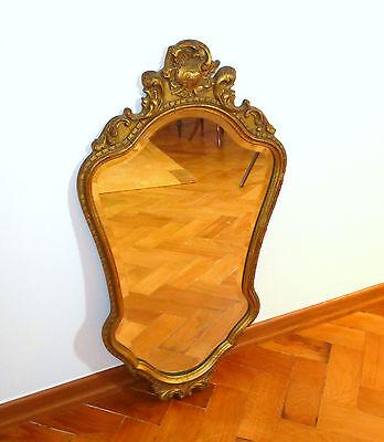 Espejos Espejo En El Marco Francia Suiza Um 1920 Muebles Antiguos Y Decoración