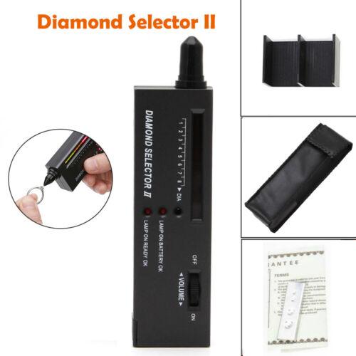 Nuevo Probador de autenticación de Audio LED Diamante Joyas herramienta de selección de piedras preciosas Reino Unido