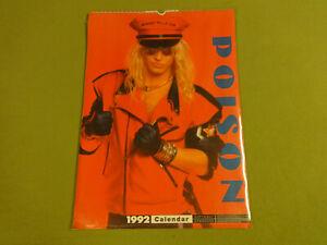 CALENDAR-1992-POISON