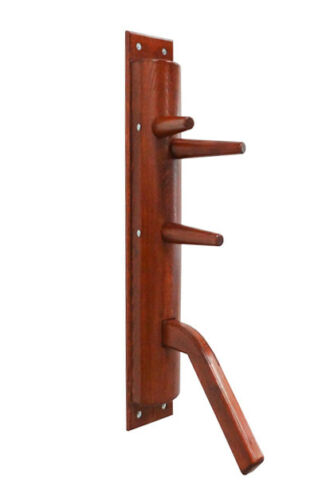Wing Chun semicircular wooden dummy with leg