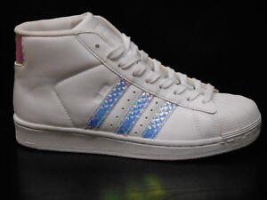 Adidas-Pro-Model-JUNIORS-Baskets-taille-4-5-blanc